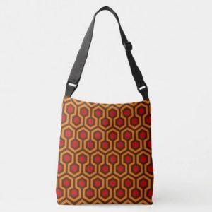 Room237 bag cross-body orange retro 1970s abstract pattern
