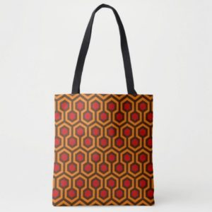 Room237 bag tote orange retro 1970s abstract pattern