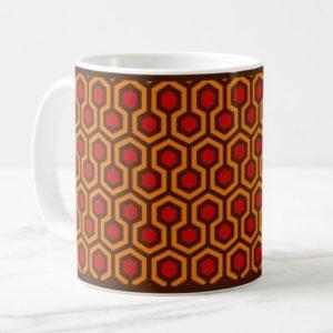 Room237 classic mug orange retro 1970s abstract pattern