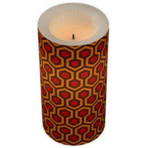 Room237 led lamp candle orange retro 1970s abstract pattern
