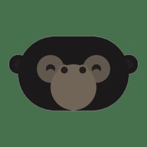 animal friends jungle gorilla transparent