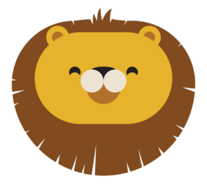 animal friends jungle lion transparent