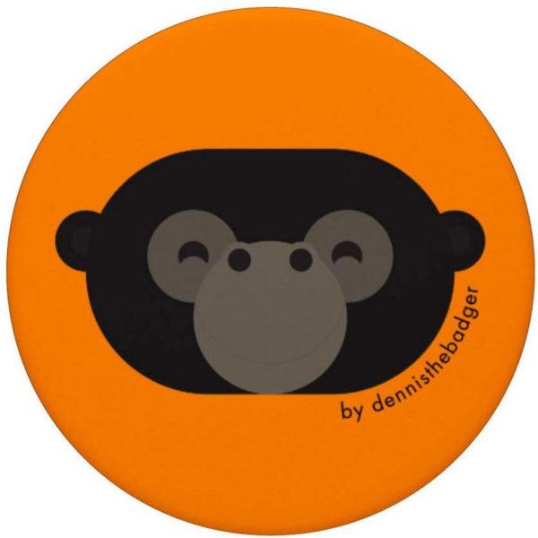 animal friends popsocket gorilla orange top - available on Amazon