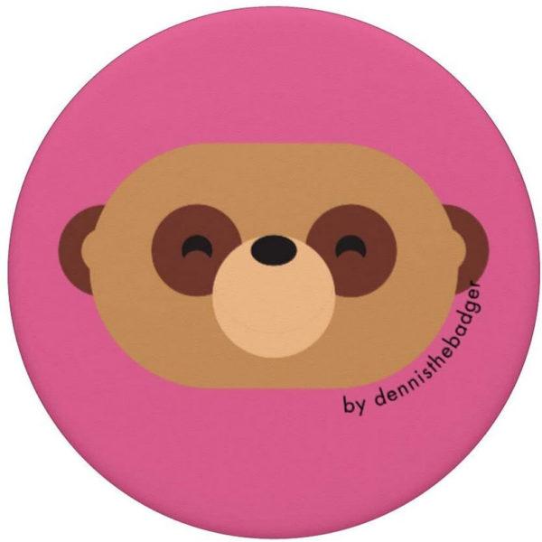 animal friends popsocket meerkat pink top - available on Amazon