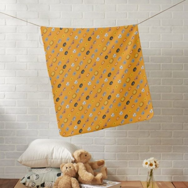 baby blanket animal friends party kids gift cute orange lifestyle