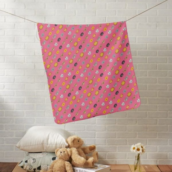 baby blanket animal friends party kids gift cute pink lifestyle