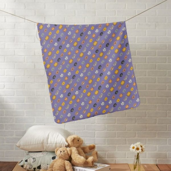 baby blanket animal friends party kids gift cute purple lifestyle