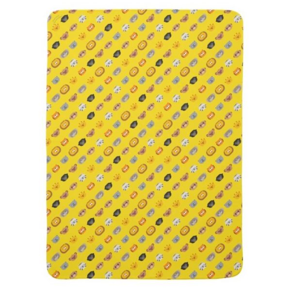 baby blanket animal friends party kids gift cute yellow