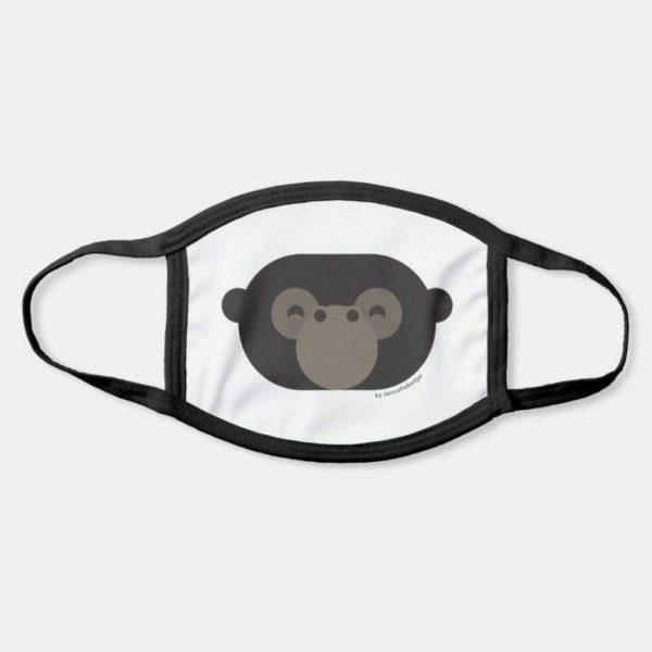 face mask gorilla cute animal friends