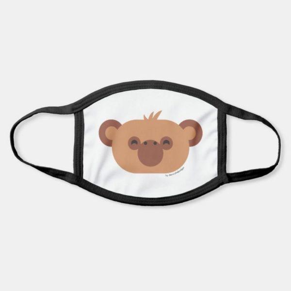 face mask monkey chimpanzee cute animal friends
