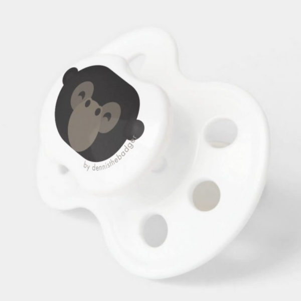 pacifier gorilla baby dummy monkey cute animal friends 2