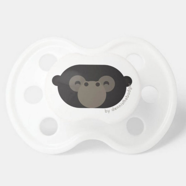 pacifier gorilla baby dummy monkey cute animal friends