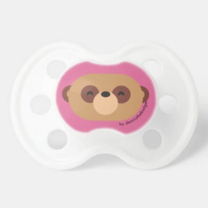 pacifier baby dummy meerkat cute animal friends