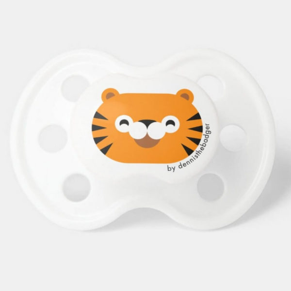 pacifier tiger baby dummy tiger cute animal friends